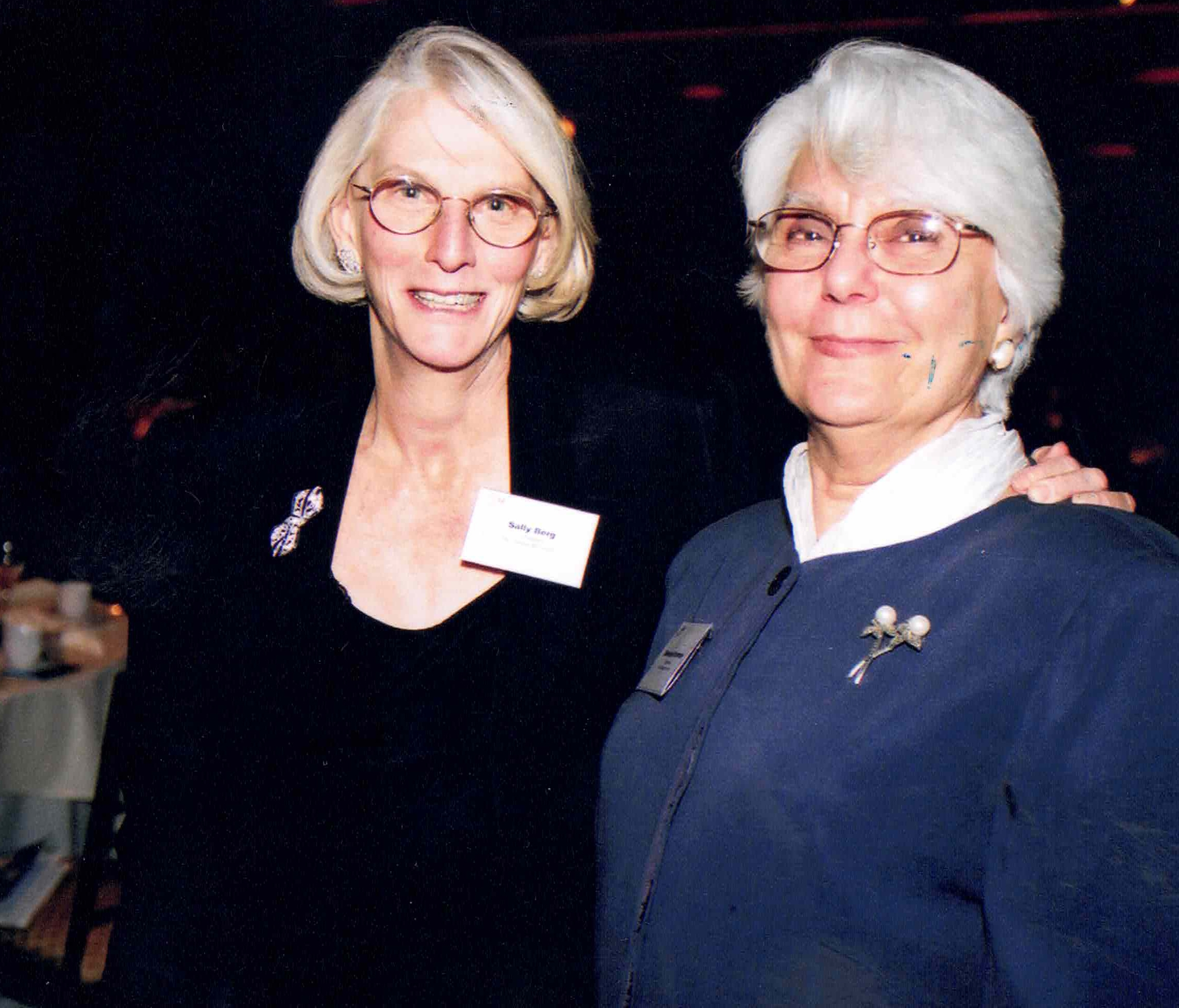 Barbara Kronman and Sally Berg Cropped